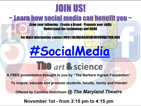 Md. Theatre social media presentation