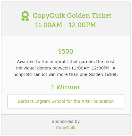 CopyQuik Golden Ticket