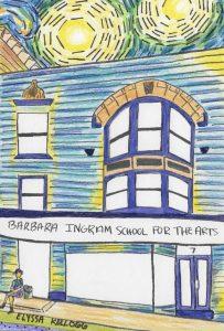 Illustration of BISFA Arts Building